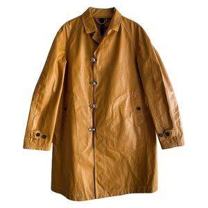 Burberry Prorsum Resort 2012 Yellow Rain Coat